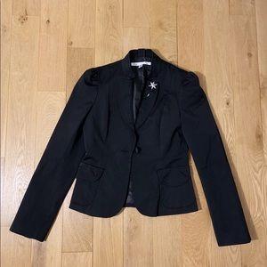 [Diane Von Furstenberg] Black blazer